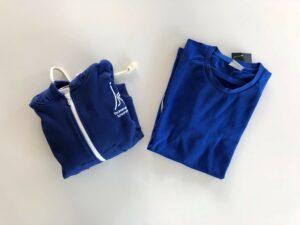 P.E KIT - 1 Hoodie with zip + 1 T.Shirt - Junior