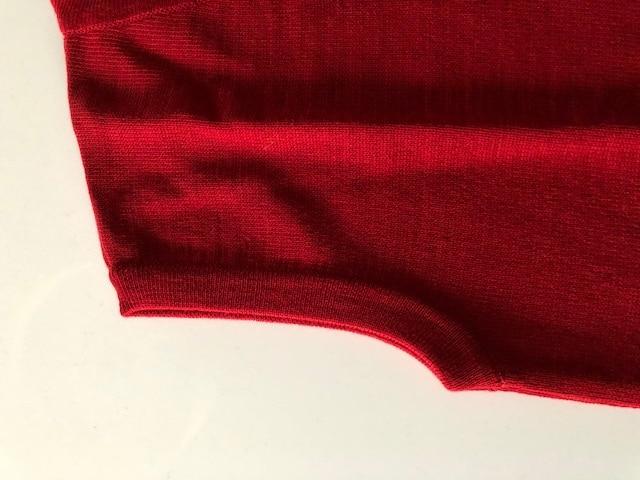 Débardeur rouge (Pull sans manche)-2585